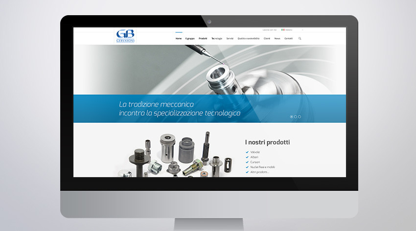The new Gervasoni corporate site is online